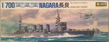 Fujimi 1:700 Water Line Series Nagara Japan Light Cruiser Model Kit #55