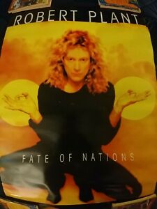 ROBERT PLANT Fate of Nations  Original 1993 Promo Poster LED ZEPPELIN