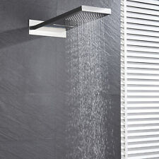 55x22cm Cascada & Ducha de Lluvia Cabeza Pulverizador de lluvias superior montado en la pared