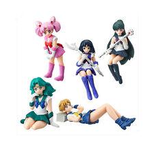 Sailor moon Anime Manga MINI Figuren 5er Set H:3.5-6.5cm PVC Neu