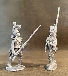 Two Napoleonic Figures, 54mm Metal Castings