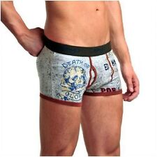 NEW ED HARDY GLORY POR VIDA PREMUIM KEYHOLE FLY FITTED BOXERS HIPSTERS SMALL 30