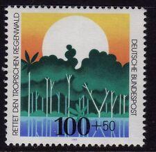 GERMANIA OVEST MNH STAMP SET Deutsche Bundespost Foresta proteggere 1992 SG 2466