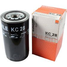 Original MAHLE / KNECHT Kraftstofffilter KC 28 Fuel Filter