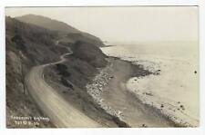 VINTAGE ROOSEVELT HIGHWAY - CALIFORNIA REAL PHOTO PICTURE RPPC POSTCARD