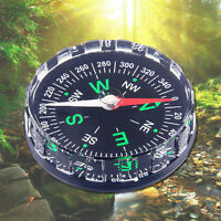 Mini Pocket Survival Liquid Filled Button Compass for Hiking Camping for Outdoor