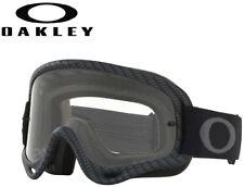 Oakley O-Frame MX Fibre Dirt Bike Motocross Clear Goggles - Matte Carbon