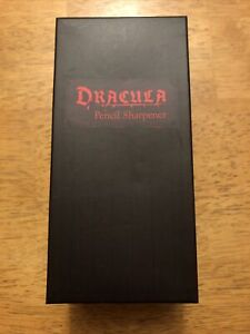 DRACULA PENCIL SHARPENER ~ RARE LOOT CRATE EXCLUSIVE ~ 2019 NEW IN BOX Horror