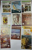 Lot of 11 Vtg Walter T Foster and Grumbacher Art Books Water Color Oil Painting