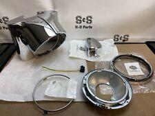 Genuine Harley-Davidson Freight Train Headlight Nacelle Kit, Chrome 67907-96C