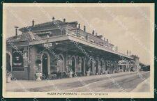 Asti Nizza Monferrato Stazione cartolina QT4878