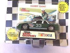 LIONEL NASCAR RACING HARRY GANT 33 CAR COLLECTORS CARD & DISPLAY STAND STOCK CAR