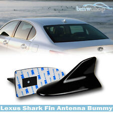 Painted Black For Lexus IS250 IS350 IS-F StylShark Fin Aerial Antenna Dummy