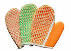 Sisal and Terry Bath  Grooming Mitt Glove for Horse or Dog by Equine Organix