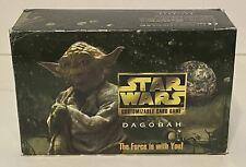 Star Wars CCG Dagobah Limited 60 Booster Pack Open Box SWCCG DECIPHER