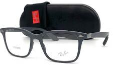 Ray Ban LITEFORCE RX7144 5521  Gray  / Demo Lens 53mm Eyeglasses