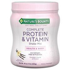 Nature's Bounty Complete Protein Shake Mix - Vanilla (16 oz)