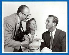 JOHN NEWLAND MARGARET HAYES VAUGHN TAYLOR Vintage 7x9 Promo Press Photo 1952 NBC