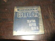 Ford 8600 9600 Tractor Repair Manual 1968 Printing