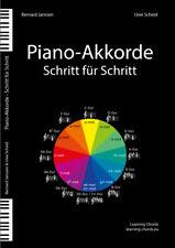 Piano-Akkorde  Schritt für Schritt - Bernard Janssen & Uwe Scheid