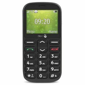 Doro 1360 blister Black Telephone portable