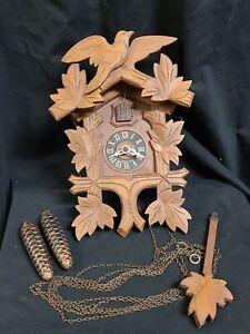 Vintage Cuckoo Clock Made In Germany