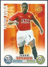 TOPPS MATCH ATTAX 2007-08-MANCHESTER UNITED & FRANCE-PATRICE EVRA