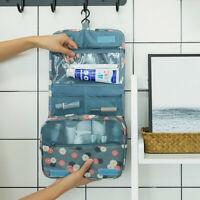 Hanging Makeup Travel Toiletry Bag Large Kit Folding Organizer For Men & Women