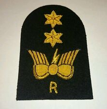 SEA CADET CORPS Cadet CIS R gold wire Arm Badge SCC