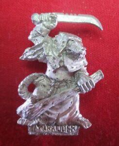 Warhammer WFB citadel metal 1993 SKAVEN PLAGUE MONK 3