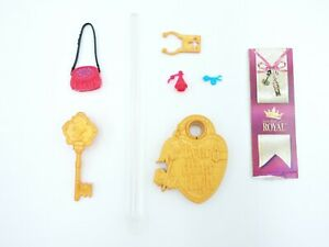 Holly O'Hair ACCESSORIES brush purse EVER AFTER HIGH Royal stand & book Poppy
