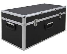 Aufbewahrungskoffer Transportkoffer Lagerbox Alubox M Alukoffer - Optik schwarz