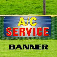 AC Auto Car Repair and Service Advertising Vinyl Banner Sign