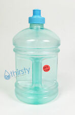 BPA Free Water Bottle Plastic Drinking Gym Canteen Jug Container Aqua H2O New