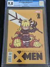 Extraordinary X-Men Annual #1 CGC 9.8 Highest Graded Young Variant Marvel 2016