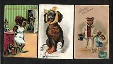 DACHSHUND DOGS – Lot of Three, A/S
