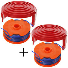 Strimmer Line Spool Head Base Cover Cap for QUALCAST GT25 GGT3503 GGT350A1 x 2
