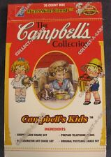 Campbells Kids Collector Card Box 36 Packs Collect-A-Card 1995 Sealed