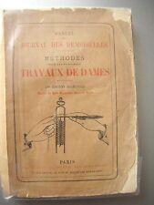 RARE MANUEL DE 1876  JOURNAL DES DEMOISELLES . TRAVAUX DE DAMES,
