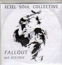 (CU225) Rebel Soul Collective, Fallout - 2012 DJ CD