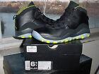 Nike Air Jordan X 10 Retro GS Black Venom Green Cool Grey Anthracite 310806 033