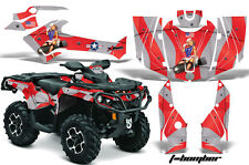Can Am AMR Racing Graphics Sticker Kits ATV CanAm Outlander SST Decals 2012 BOMB