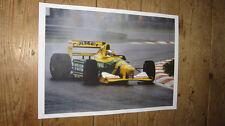 Michael Schumacher Benetton F1 Legend POSTER