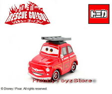 Tomica Tomy Disney Pixar Cars Rescue Go! Go! Luigi Fire Engines