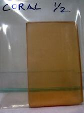"2x3"" Tiffen Coral 1/2 Glass Filter"