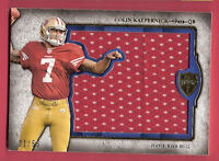 COLIN KAEPERNICK 2011 ROOKIE JUMBO JERSEY PATCH #d21/55 TOPPS SUPREME SF 49ers