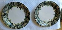 Set of 2   Dinner Plates  - Realtree By BASS PRO - 10 1/2 Inch Good Condition