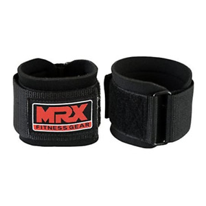 MRX Weight Lifting Wrist Wraps for Wrist Support BLACK