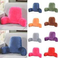 Reading Pillow Back Rest Waist Lumbar Support Arm Backrest Seat Cushion Lounger