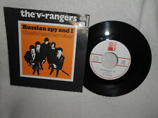 """7"""" THE V-RANGERS -- RUSSIAN SPY AND I / TOSSIN´ AND TURNING"""